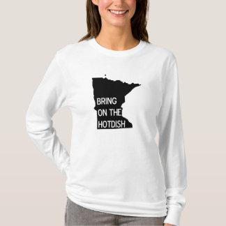 Bring on the Hotdish Funny MN Hooded Sweatshirt