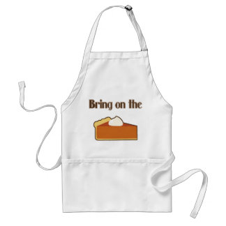 Bring On the Pumpkin Pie Adult Apron