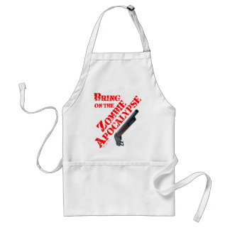Bring on the Zombie Apocalypse Aprons