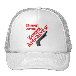 Bring on the Zombie Apocalypse Trucker Hat