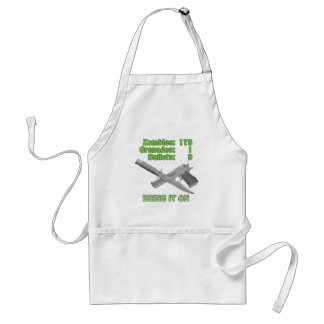 Bring on the Zombies Adult Apron