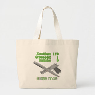 Bring on the Zombies Canvas Bags