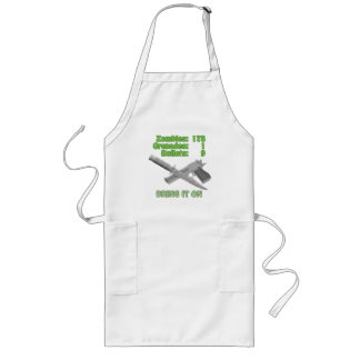 Bring on the Zombies Long Apron