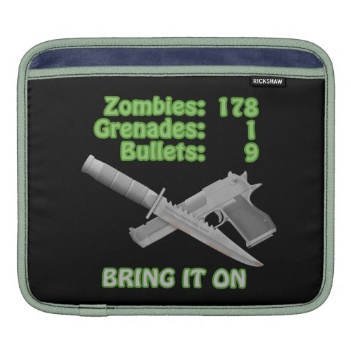 Bring on the Zombies Sleeves For MacBook Air
