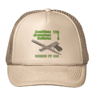 Bring on the Zombies Trucker Hat