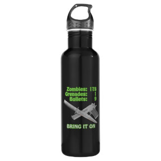 Bring on the Zombies Water Bottle