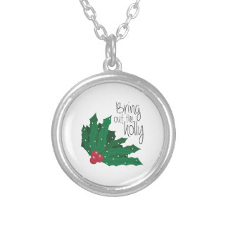 Bring Out The Holly Personalized Necklace
