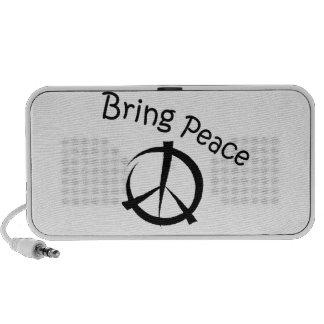 Bring Peace Mini Speakers