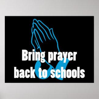 Bring Prayer Back to Schools Poster