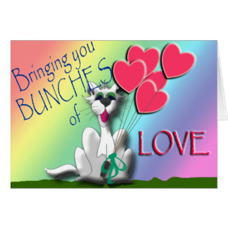 Bring someone a bunch of love! card