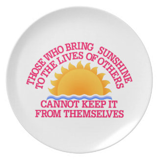 Bring Sunshine Dinner Plates