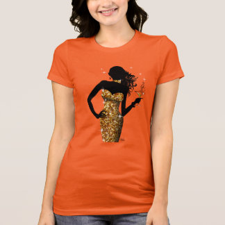 Bring the Bling Bombshell Sparkle | gold T-Shirt