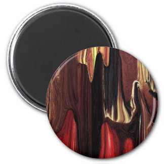 Bring The Curtain Down 2 Inch Round Magnet