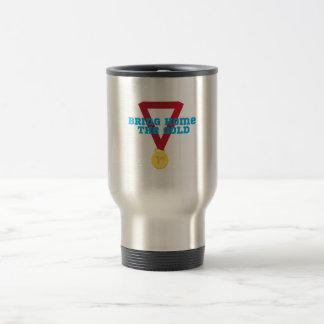 Bring the Gold Travel Mug