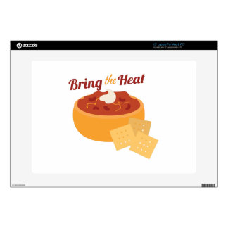 """Bring The Heat 15"""" Laptop Decal"""