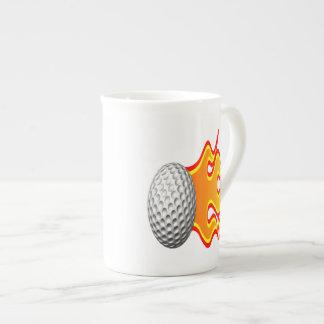 Bring The Heat Bone China Mugs