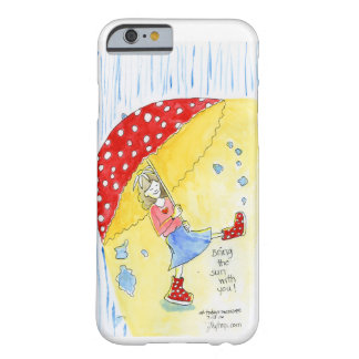 Bring the sunshine with you! barely there iPhone 6 case