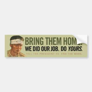 Bring Them Home Bumper Sticker Car Bumper Sticker