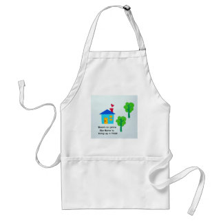 Bring up a child.... adult apron