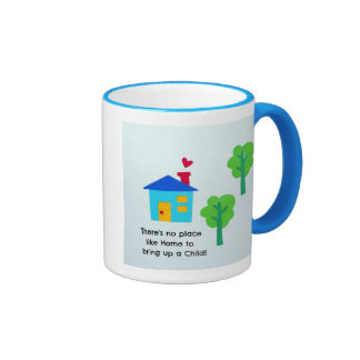 Bring up a child.... coffee mugs