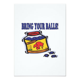 Bring Your Balls Card