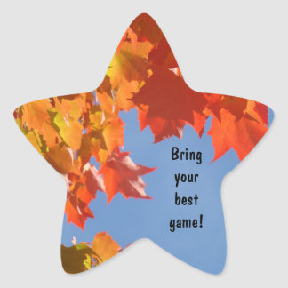 Bring Your Best Game! stickers School Sports Games