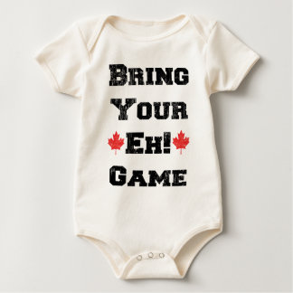 Bring Your Eh Game Canada Baby Bodysuit