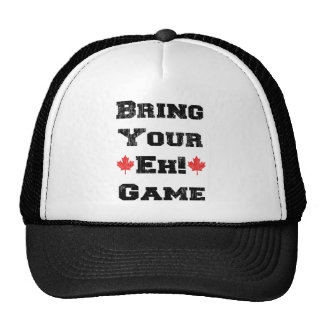 Bring Your Eh Game Canada Hats