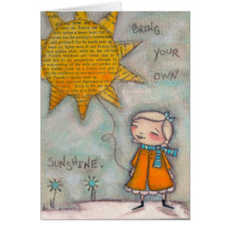 Bring Your Own Sunshine - Note Cards