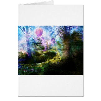 BRINGER OF MISTS TO AVALON.jpg Greeting Card