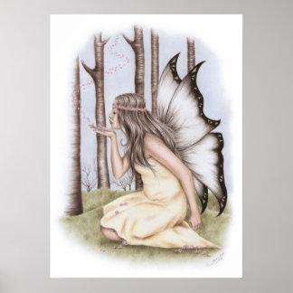 Bringer of spring Fairy Poster