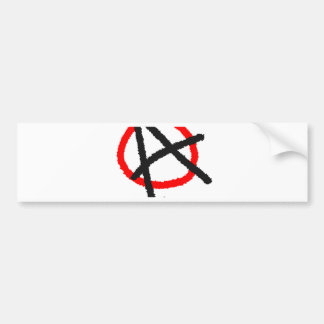 BRINGING ANARCHY TO THE FORCE BUMPER STICKER