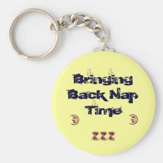 Bringing Back Nap Time Basic Round Button Keychain
