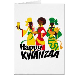 Bringing Celebration Kwanzaa Holiday Notecards Card