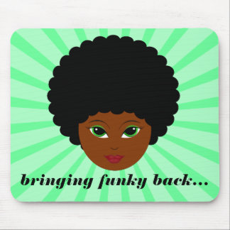 Bringing Funky Back Mouse Pad