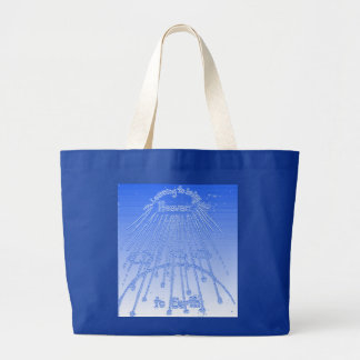 Bringing Heaven to Earth Large Tote Bag