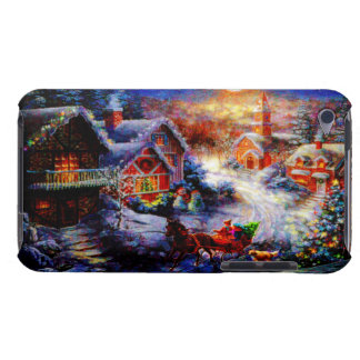 Bringing Home The Christmas Tree iPod Case-Mate Case