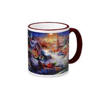 Bringing Home The Christmas Tree Mug