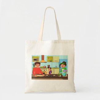 Bringing Home the Dough Tote Bag