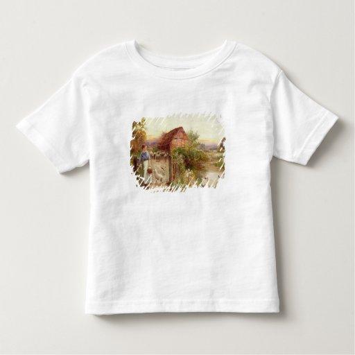 Bringing Home the Sheep Shirts