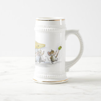 Bringing In The Cheese (with Olives)  Beer Stein