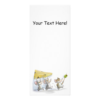 Bringing In The Cheese (with Olives) Bookmark Personalized Rack Card