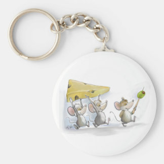 Bringing In The Cheese (with Olives) Keychain