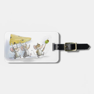 Bringing In The Cheese (with Olives) Luggage Tag