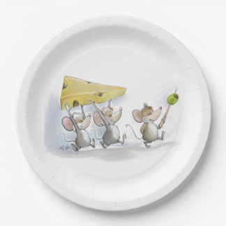 Bringing In The Cheese (with Olives) Paper Plate