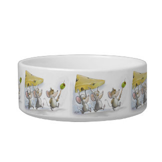 Bringing In The Cheese (with Olives) Pet Bowl