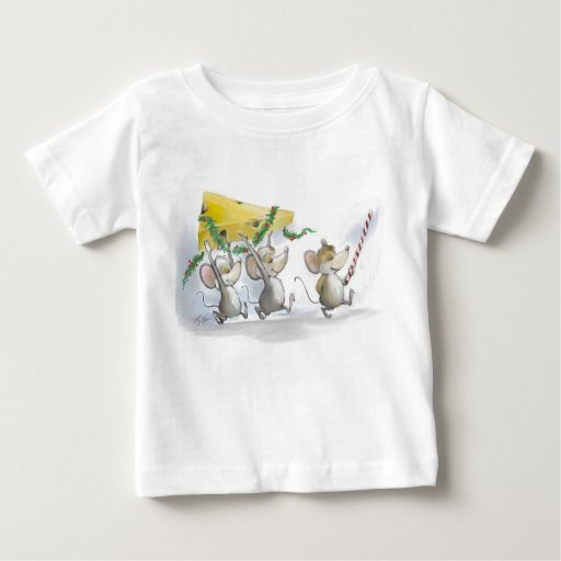 Bringing In The Christmas Cheese Infant T-Shirt