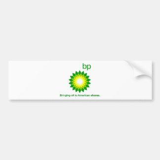Bringing Oil To American Shores Bumper Sticker