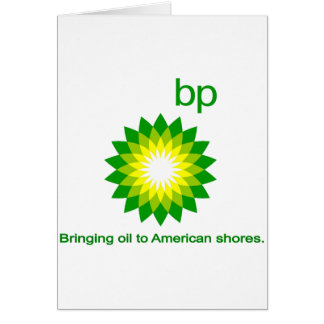 Bringing Oil To American Shores Card
