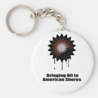 BRINGING OIL TO AMERICAN SHORES KEYCHAIN